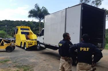 PRF apreende mais caminhões roubados em desmanche clandestino