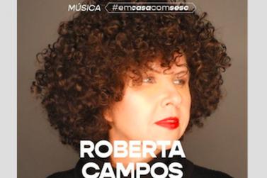 Roberta Campos apresenta seus sucessos, hoje, às 19h