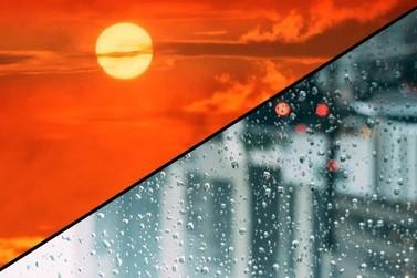 Sábado mais quente, mas com chuva à tarde e à noite no Vale do Ribeira