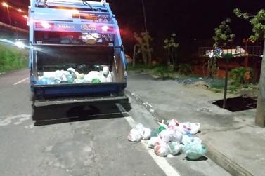 Serviço de coleta de lixo doméstico é retomado