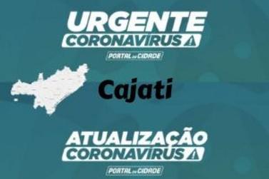 Cajati chega a 20 óbitos por Covid-19 e se mantém como cidade mais afetada