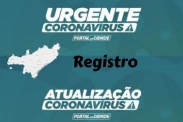 Com mais 2 óbitos, Registro se iguala a Miracatu com 16 vítimas por Covid-19