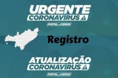 Homem de 59 anos é 18ª vítima por Coronavírus em Registro