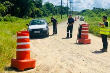 Iguape estabelece extensão das barreiras de acesso até o dia 16 de agosto