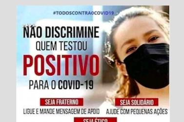 Miracatu lança campanha contra a discriminação aos infectados de Covid-19