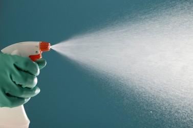 Químicos alertam para uso inadequado de produtos para desinfecção