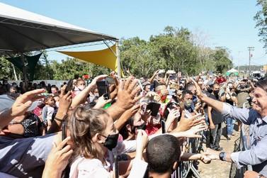 Bolsonaro inicia hoje segundo dia de visita ao Vale do Ribeira