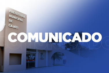 Cajati nomeia novo prefeito