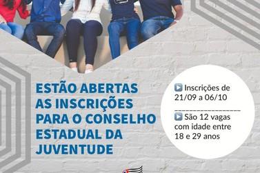 Conselho Estadual da Juventude abre inscrições para os jovens paulistas
