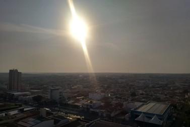 Defesa Civil Estadual emite alerta para altas temperaturas