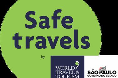 """Estado recebe o """"Safe Travel"""", selo que atesta segurança sanitária mundialmente"""