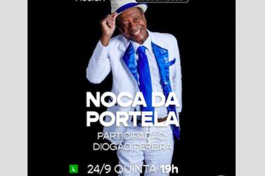 Noca da Portela traz a alegria do carnaval na live de hoje, às 19h