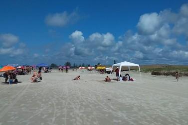 Ilha Comprida faz fiscalização no controle de acesso de vans e ônibus