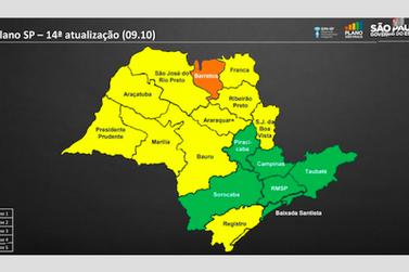 Vale do Ribeira continua na Fase Amarela e outras 5 regiões entram na Fase Verde