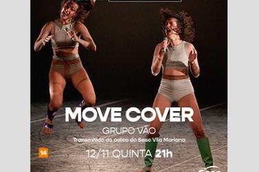 Grupo Vão apresenta coreografia inspirada nas Spice Girls em live do Sesc