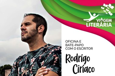 Ilha Comprida promove Oficina e Bate Papo com o escritor Rodrigo Círiaco