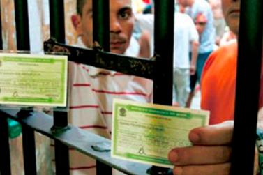 Presídios contam com seções eleitorais neste domingo
