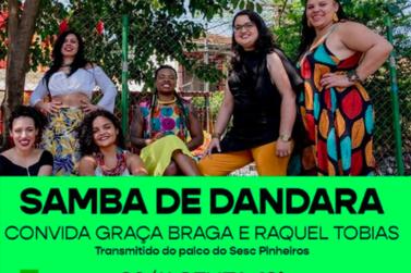 Samba de Dandara comemora o Dia da Consciência Negra em live do Sesc