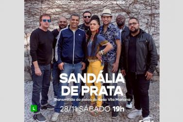 Sandália de Prata traz samba-rock para live do Sesc