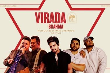 Barões da Pisadinha, Luan Santana e Bruno & Marrone fazem show da virada, às 22h