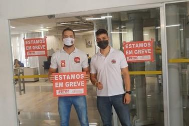 Bancários do BB do Vale participam de paralisação contra reformas do Governo