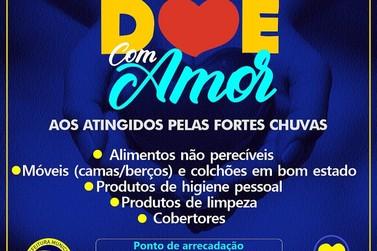 """Fundo Social de Solidariedade lança campanha """"Doe com Amor"""""""