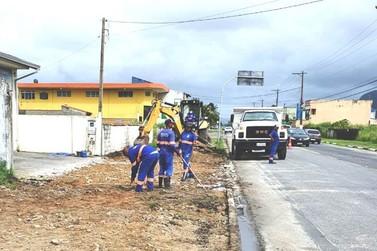 Ilha Comprida inicia obras para implantação de ciclovia na  Avenida São Paulo