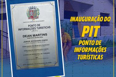 Ponto de Informações Turísticas é inaugurado em Sete Barras