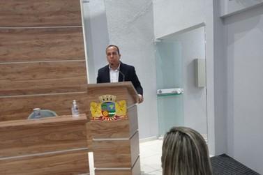 Vereador Sidinei Bico assume a prefeitura de Cajati interinamente