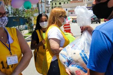 Mais de uma tonelada de donativos foram arrecadados em evento de Registro