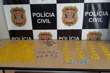 Polícia Civil prende homem acusado por tráfico de drogas em Registro