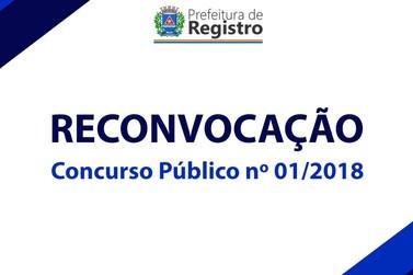 Prefeitura faz reconvocação de aprovados em concurso público em Registro