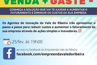 Sebrae promove palestra gratuita sobre inovação para empreendedores do Vale