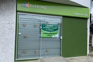 Espaço de atendimento da Elektro em Registro em novo endereço