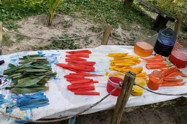 Artesãs da Ilha investem em trançados e técnicas de tingimento da taboa