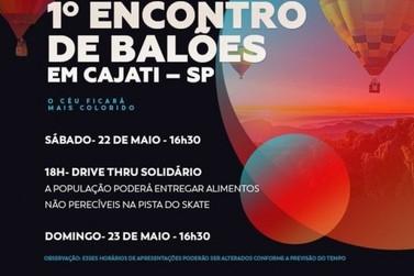 Cajati faz aniversário com 1o Encontro de Balões