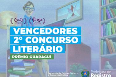 Cultura divulga resultado dos vencedores do 2º Concurso Literário de Registro