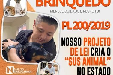 PL institu SUS Animal no estado de São Paulo (SUSASP)
