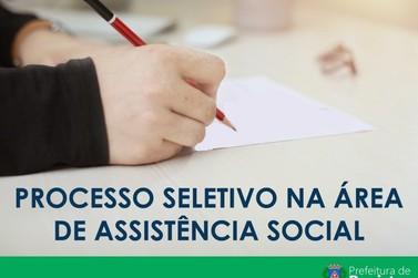 Prefeitura abre inscrição para processo seletivo na área de assistência social