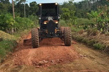 Registro passa por melhorias em bairros e estradas rurais