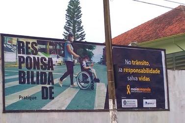 Secretaria de Trânsito e Mobilidade Urbana promove campanha de conscientização