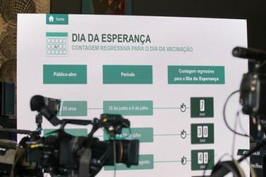 Governo lança Dia da Esperança dentro da plataforma Vacina Já