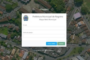 Registro disponibiliza pesquisa e visualização online de mapas e imagens aéreas