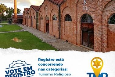 Registro participa da premiação Top Destinos Turísticos em duas categorias