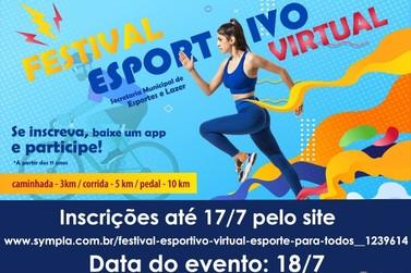Secretaria de Esportes e Lazer de Registro lança Festival Esportivo Virtual