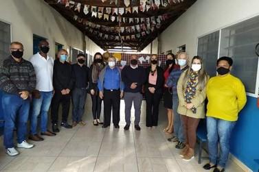 Cananéia recebe visita da Presidente da Federação das APAES do estado de SP