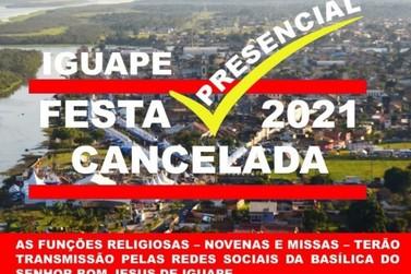 Festa do Senhor Bom Jesus de Iguape começa nesta quarta-feira em evento híbrido