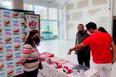 ONG Banco de Alimentos visita Registro