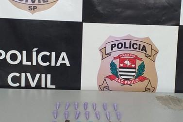 Polícia Civil prende em flagrante traficante em Cajati