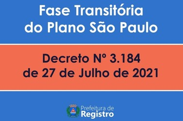 Registro avança na Fase transitória do Plano São Paulo